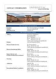 Contact Info - OIR IITM
