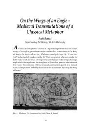 On the Wings of an Eagle - Medieval Transmutations of a Classical ...
