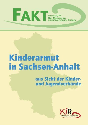 Kinderarmut in Sachsen-Anhalt - Kinder- und Jugendring Sachsen ...