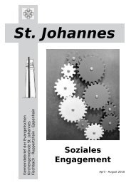 Termine - St. Johannes