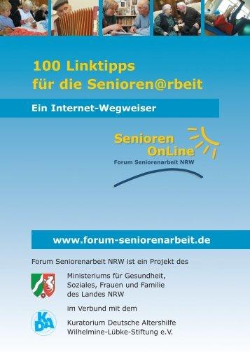 100 Linktipps für die Senioren@rbeit - Kuratorium Deutsche Altershilfe