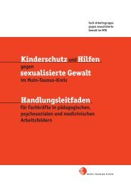 Sexuelle Gewalt - Main-Taunus-Kreis