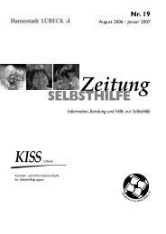 Nr. 19 - KISS Kontakt- und Informationsstelle für Selbsthilfegruppen
