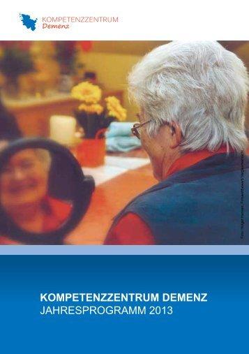Jahresprogramm 2013 - Alzheimer Gesellschaft Schleswig-Holstein ...
