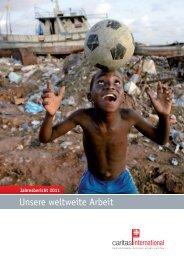 Jahresbericht 2011 - Caritas international