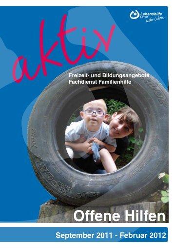 September 2011 - Lebenshilfe Lörrach