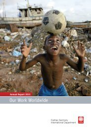 Annual Report 2011 - Caritas international