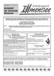Amtsblatt Nr. 21 / KW 42 vom 18.10.2012 - Illmensee
