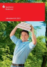 Jahresbericht 2011 - Sparkasse Bodensee
