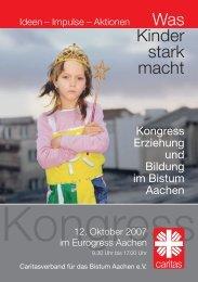 Forum I - Caritasverband für das Bistum Aachen