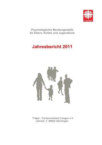 Jahresbericht 2011 1-3-2012 - Psychologische Beratung