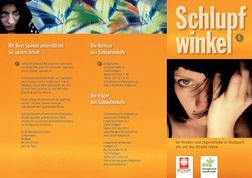 Flyer Schlupfwinkel