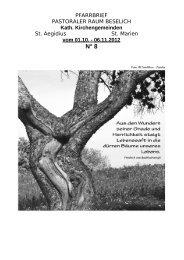 PFARRBRIEF - pastoraler-raum-beselich