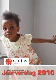 Jaarverslag 2010 - Caritas