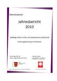 Jahresbericht 2010 der Erziehungsberatungsstelle