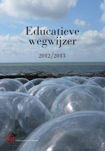 brochure 2012-2013 - Educatieve Wegwijzer