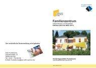 (Broschüre C5 Familienzentrum ...) - Studentenwerk Aachen