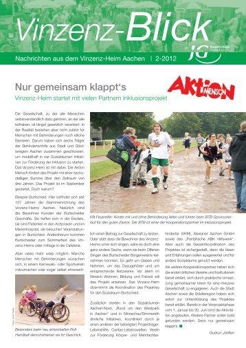 Zeitung 2-2012.indd - Vinzenz-Heim Aachen