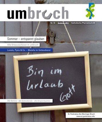 umbruch - Am Worringer Bruch