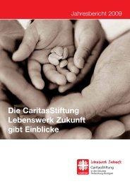 Die CaritasStiftung Lebenswerk Zukunft gibt Einblicke