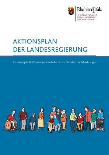 aktionsplan der landesregierung - Ministerium - in Rheinland-Pfalz