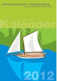 Ferienkalender 2012 - Verbandsgemeinde Kandel
