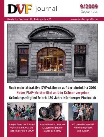DVF-journal 9/2009 - Deutscher Verband für Fotografie