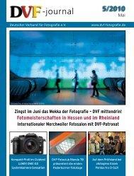 Download Ausgabe 05/2010 - Deutscher Verband für Fotografie