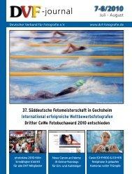 Download Ausgabe 07-08/2010 - Deutscher Verband für Fotografie