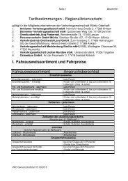 Tarifbestimmungen - Demminer Verkehrsgesellschaft mbH
