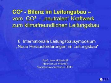 CO² - Bilanz im Leitungsbau - dvgw-bb.de