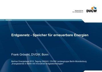 Frank Gröschl, DVGW