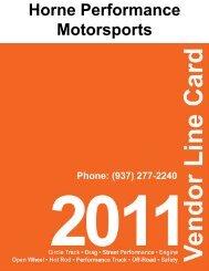 Horne Performance Motorsports (937) 277-2240 - Horne Motorsports