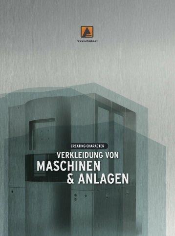 Verkleidung von Maschinen & Anlagen - Schinko Österreich