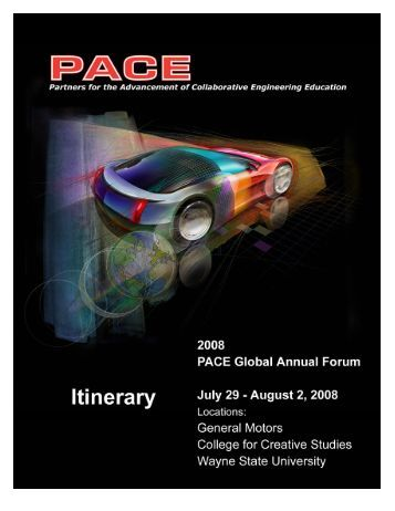 PACE Meeting Day