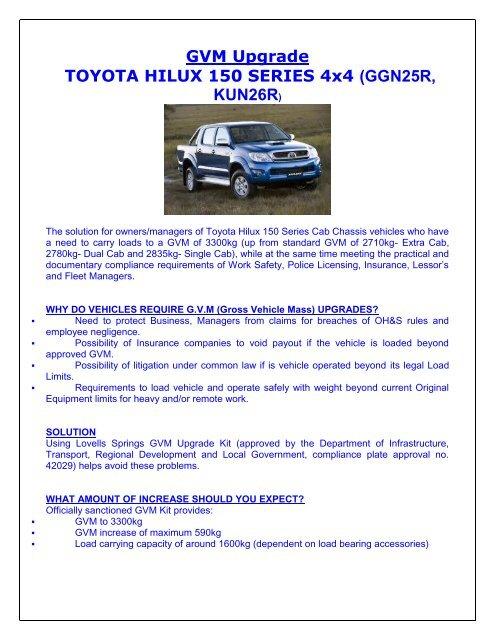 Toyota Hilux Problem