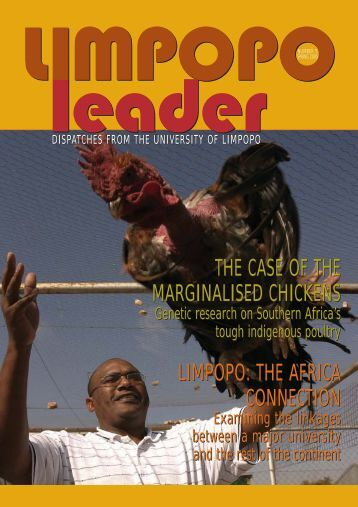 Limpopo Leader - Spring 2005 - University of Limpopo