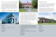 Flyer Technologiezentren - Wirtschaftsförderung Kreis Soest
