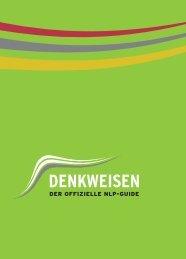 NLP Guide DENKWEISEN als pdf - dvnlp