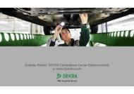 DEKRA Competence Center Elektromobilität a.richter ... - eCarTec