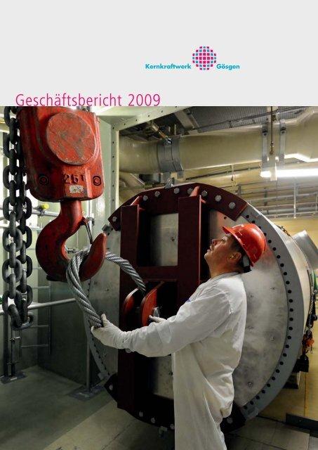 Geschäftsbericht 2009 - Kernkraftwerk Gösgen