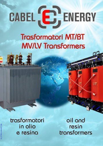 trasformatori in resina - Cabel Energy