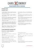 trasformatori in resina - Cabel Energy - Page 2