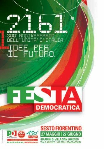 catalogo 2011_OK.indd - Circolo PD di Sesto Fiorentino