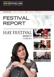 2012 Festival Report - Hay Festival