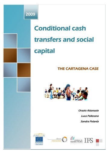 Conditional cash transfers and social capital: