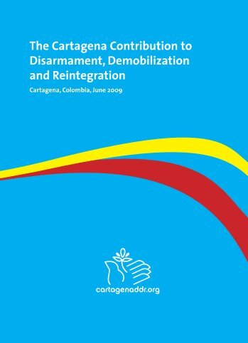 demobilization rehabilitation and reintegration of child