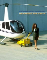 HELICOPTER TOW CARTS - Robinson Helicopter Company
