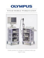 Sales Brochure: WM-60 Video Endoscopy Cart - Olympus America