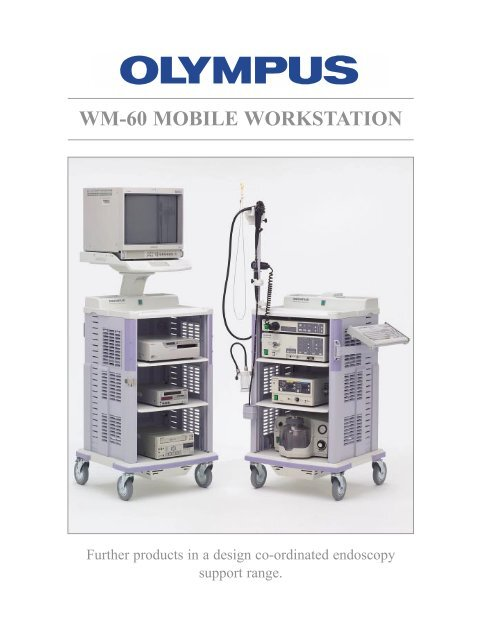 Endoscope Design: Sales Brochure: WM-60 Video Endoscopy Cart